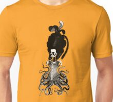 Octopus Skeleton Woman Unisex T-Shirt