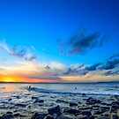 Sunset Surf by Dean Bailey