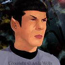 Spock by Andrew Wells