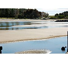 Large Puddles Photographic Print