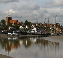 Waterside at Maldon, Essex by wiggyofipswich