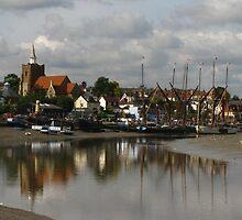 Waterside at Maldon, Essex by wiggyofipswich
