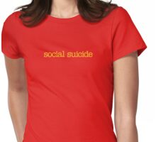 Mean Girls - Social Suicide Womens Fitted T-Shirt