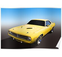 Plymouth Muscle Poster