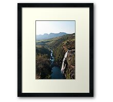 Lisbon Falls Framed Print
