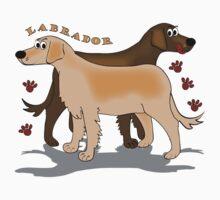 Labradors by Diana-Lee Saville