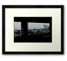 Multi-Screen Cinema Framed Print