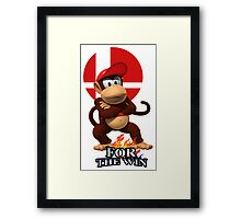 Diddy For the Win Framed Print