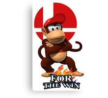 Diddy For the Win Canvas Print