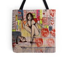 At The Hero's Bar Villains are Welcome.. ( Tokyo Holiday Journal ) Tote Bag