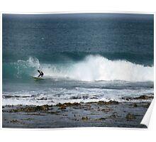Surfing Port Fairy Victoria Poster