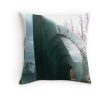 Glass Fountain Throw Pillow