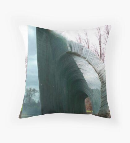 Glass Fountain Throw Pillow