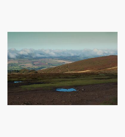 the morning hills Photographic Print