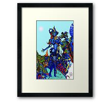 """""""Cyberian"""" Android Goddess MIX 1 Framed Print"""
