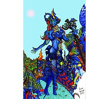 """""""Cyberian"""" Android Goddess MIX 1 Photographic Print"""