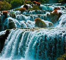 Waterfall Krka by Patrik Ruzic