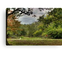 The History of Concord, Massachusetts USA Canvas Print