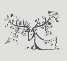 Tree Deer by Miss Dilettante