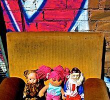Back Alley Chair Gang by jlara