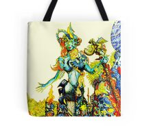 """Cyberian"" Android Goddess MIX 2 Tote Bag"