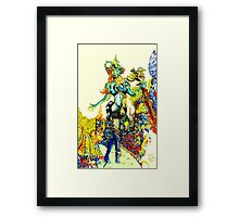 """""""Cyberian"""" Android Goddess MIX 2 Framed Print"""