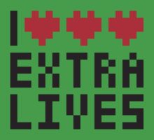 Extra Lives Baby Tee