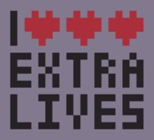 Extra Lives Kids Tee