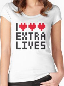 Extra Lives Women's Fitted Scoop T-Shirt