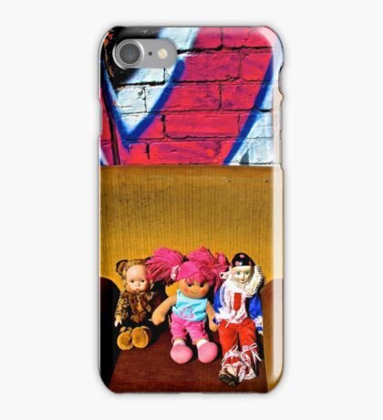 Back Alley Chair Gang iPhone Case/Skin