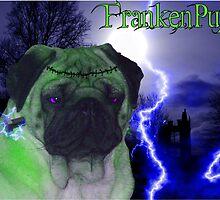 FrankenPug by Louise Morris