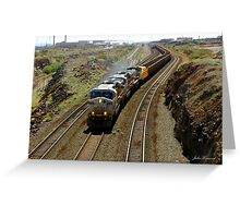 Ore Train, Western Australia Greeting Card