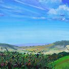 Devon Countryside Painting by MikeJory