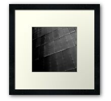 Exposing imperfection Framed Print