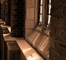 Chapel Sunlight - Huntingdon College, AL by Becca Estes