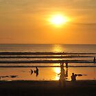 Kuta beach sunset by markdavies87