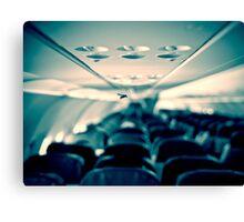 Flight in flight Canvas Print