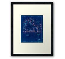 Massachusetts  USGS Historical Topo Map MA Marthas Vineyard 352838 1894 62500 Inverted Framed Print