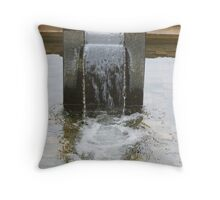 water number 3 Throw Pillow