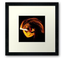 Playing with fire (5) Framed Print