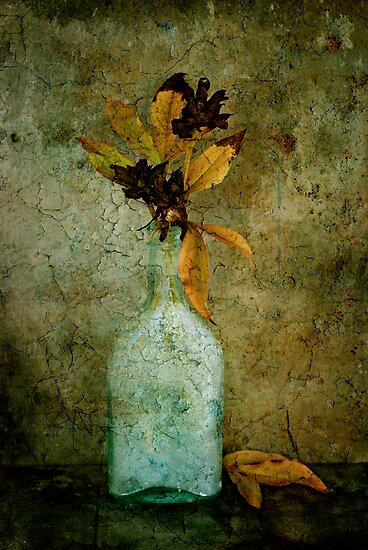 Autumn Peonies by Barbara Ingersoll