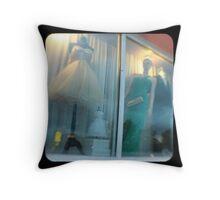 TTV-window dressing Throw Pillow