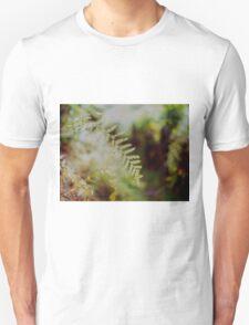 Leafy Bokeh Unisex T-Shirt