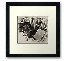 Antique Baby Carriage Framed Print
