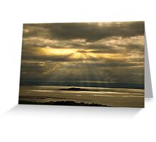 Morning Scatter  Greeting Card