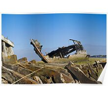 River Wyre Shipwrecks Poster