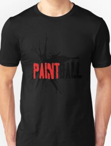 Paintball Red-Black T-Shirt