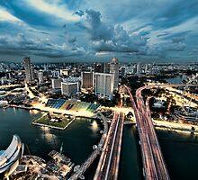 Singapore Skyline by Jason Pang, FAPS FADPA