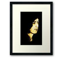 Mr Page Framed Print