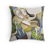 Fragrant Breath Throw Pillow